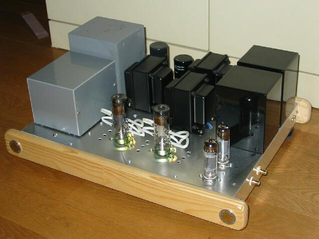 過去の作品:8012A宍戸式送信管アンプ