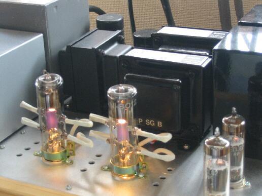 8012A真空管アンプ