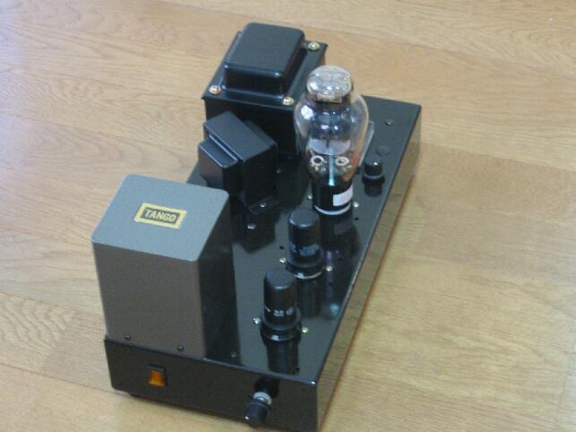 自作真空管アンプ「91型300Bモノ」